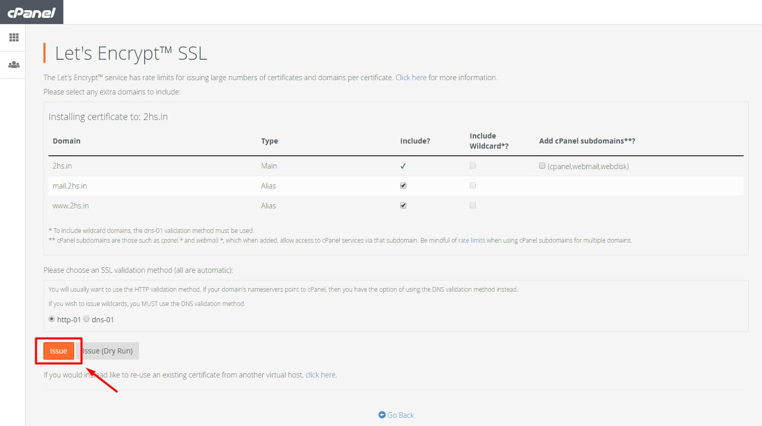 installing-lets-encrypt-ssl-in-cpanel
